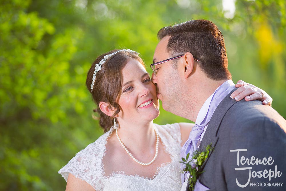 Wedding Portraits at The Plough at Leigh by Terence Joseph Photography