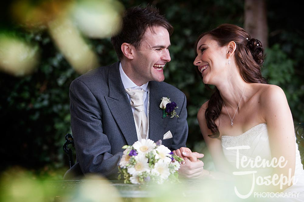 Country House wedding photos of the couple