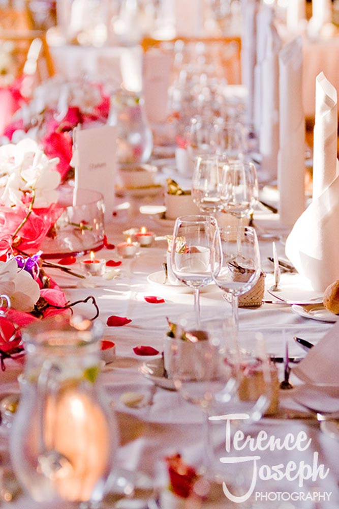 Stunning Wedding Breakfast Fanhams Hall Hotel Ware