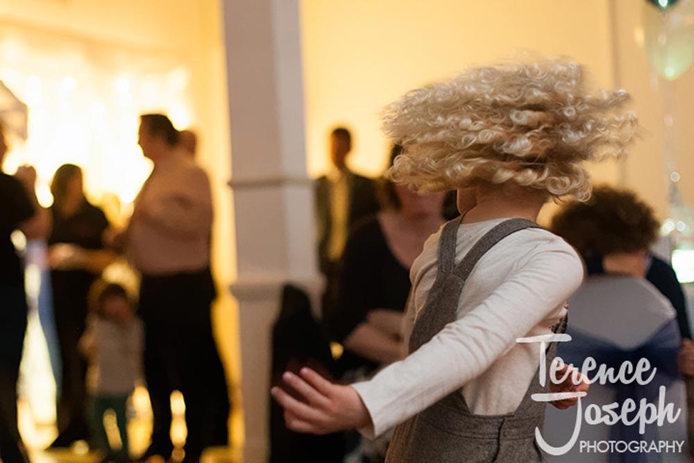 Super mop hair do at wedding