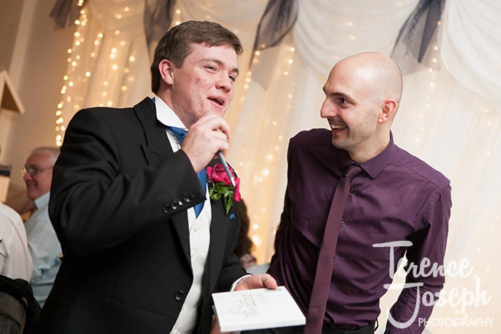 STC Sports club wedding