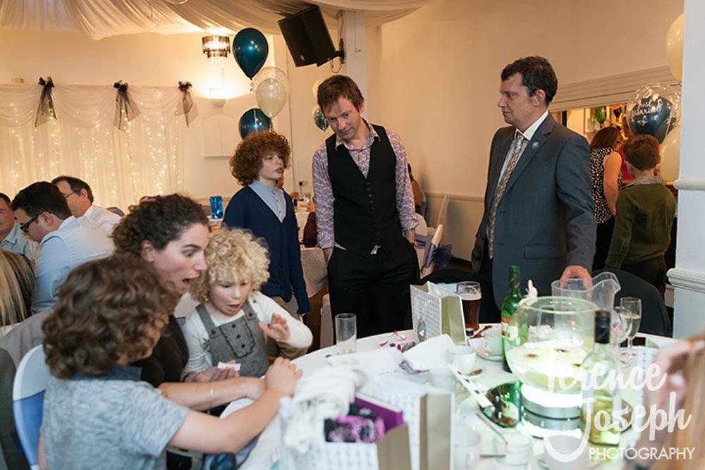 Fun and games at weddings
