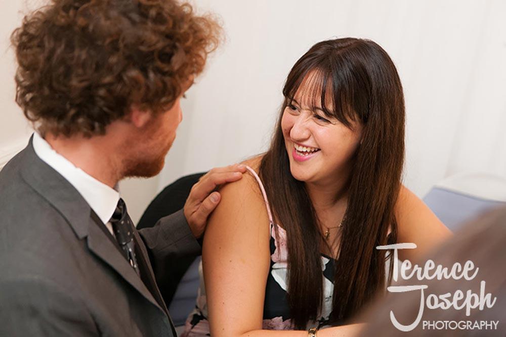 Wedding laughs