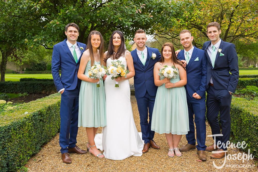 Hanbury Manor Ware Wedding group Photos