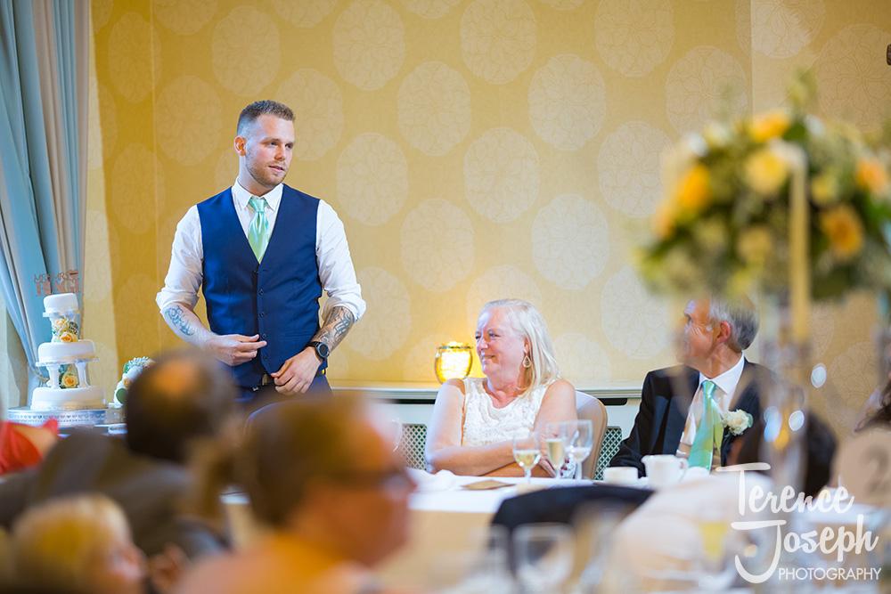Hanbury Manor Ware Wedding speeches