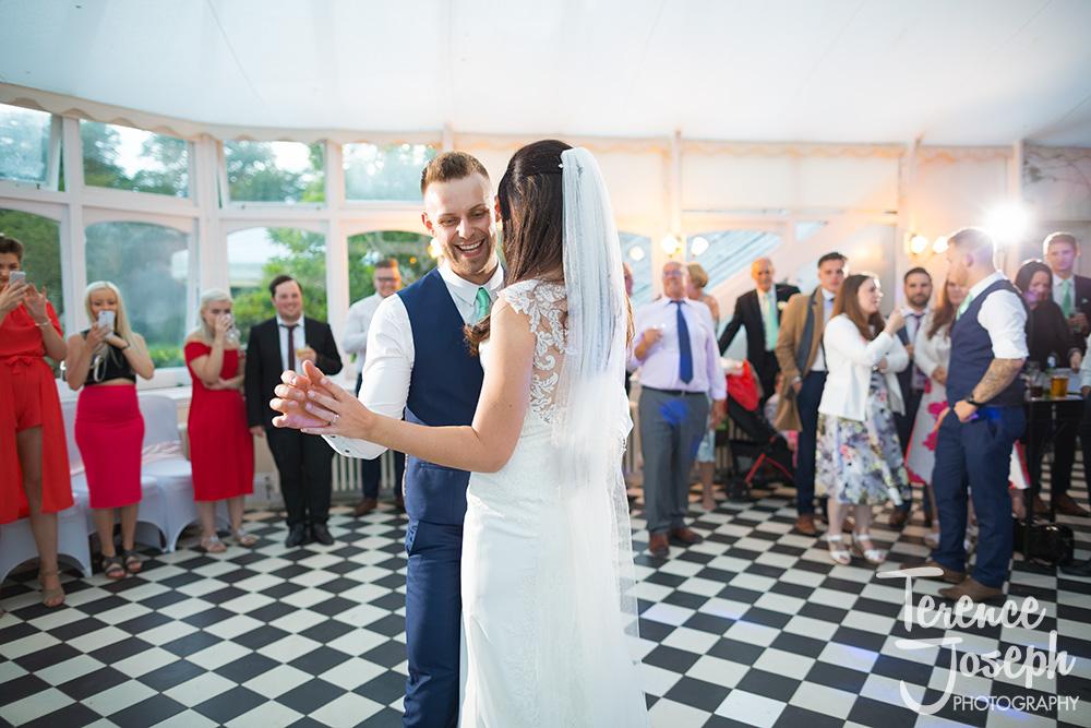 Hanbury Manor Ware Evening Wedding reception