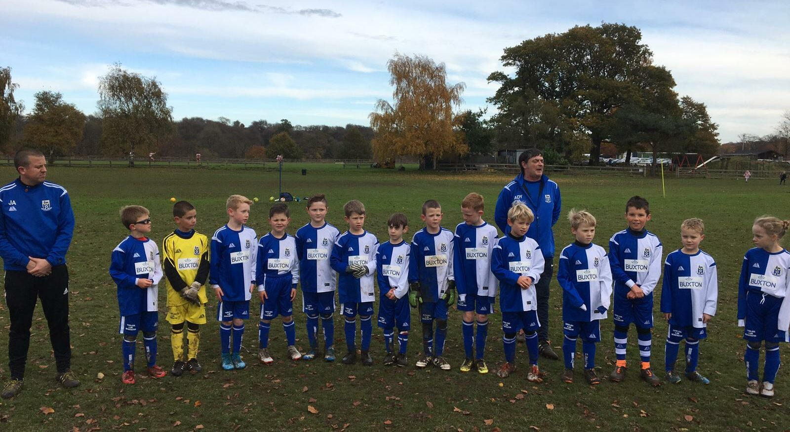 U8s Remembrance Weekend