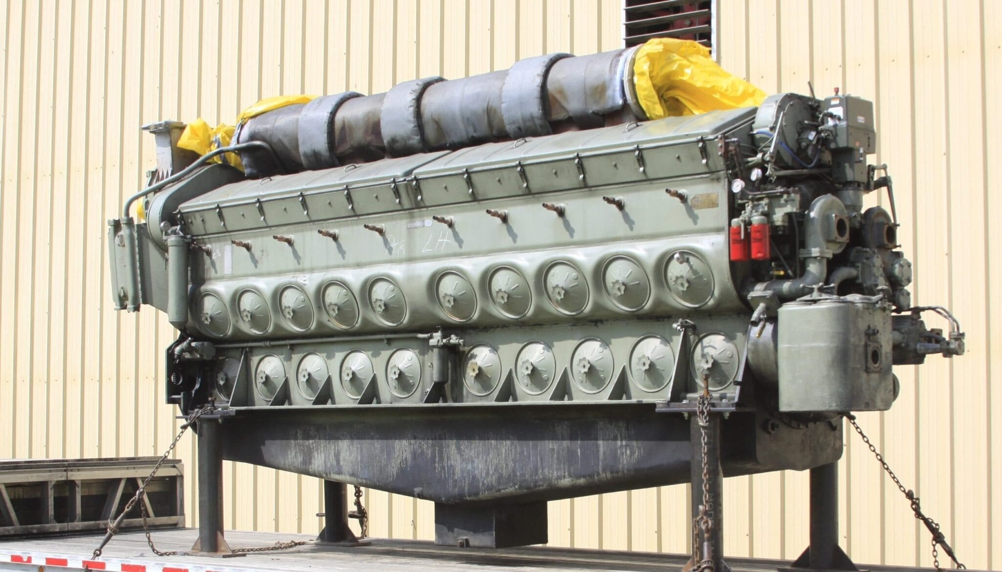 Remanufactured EMD engine