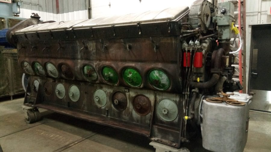 Ohio EMD engine remanufacturing before