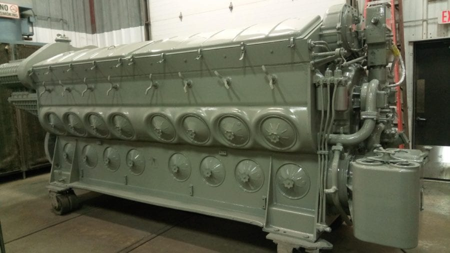 Ohio EMD engine remanufacturing after