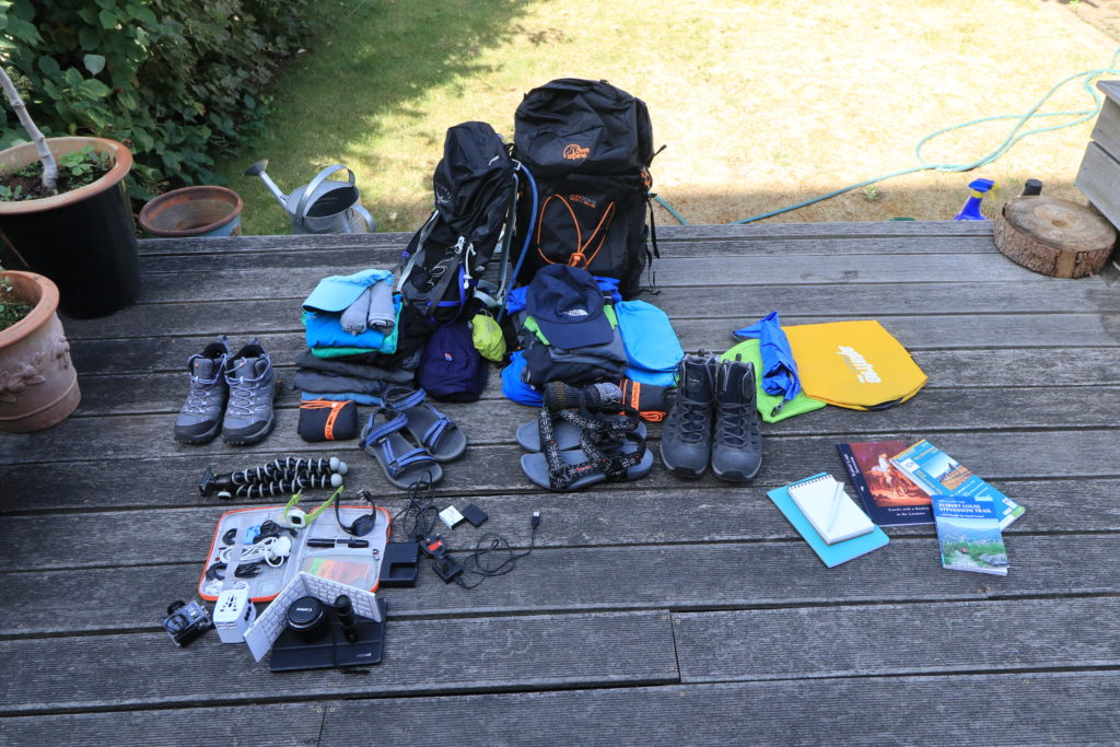 Backpacking equipment