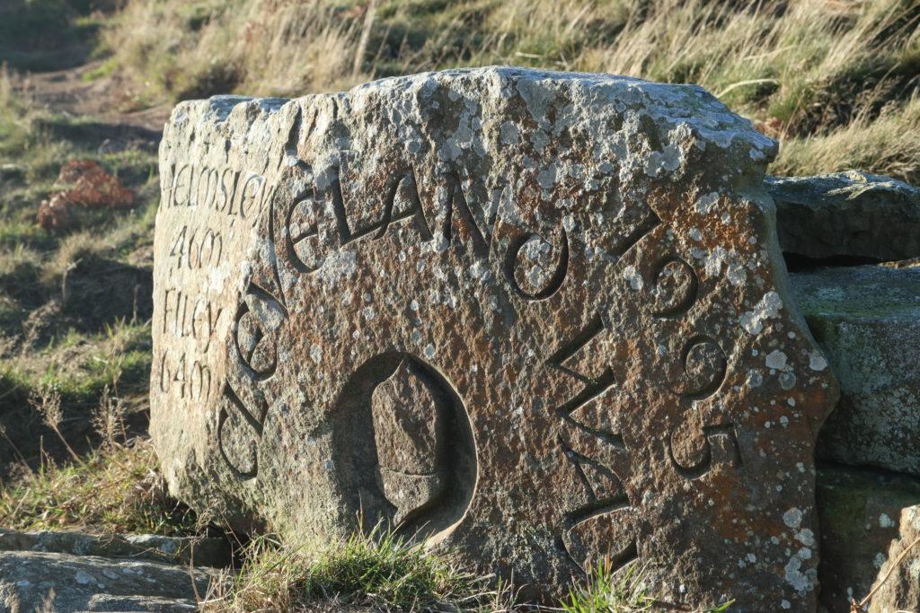 cleveland way marker