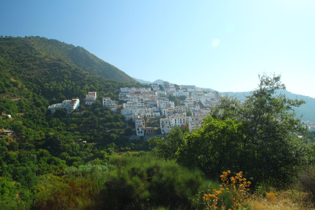 Village in the Andalucian mountains
