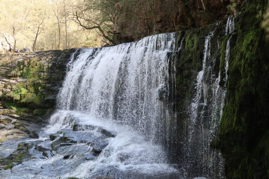 Sgwd Isaf Clun Gwyn waterfall