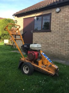 Ethical Arboriculture small stump grinder