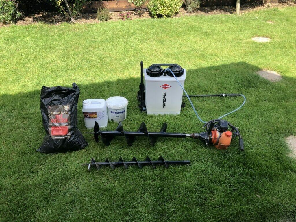 Soil Amendment tools