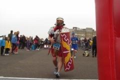 5km in Roman armour