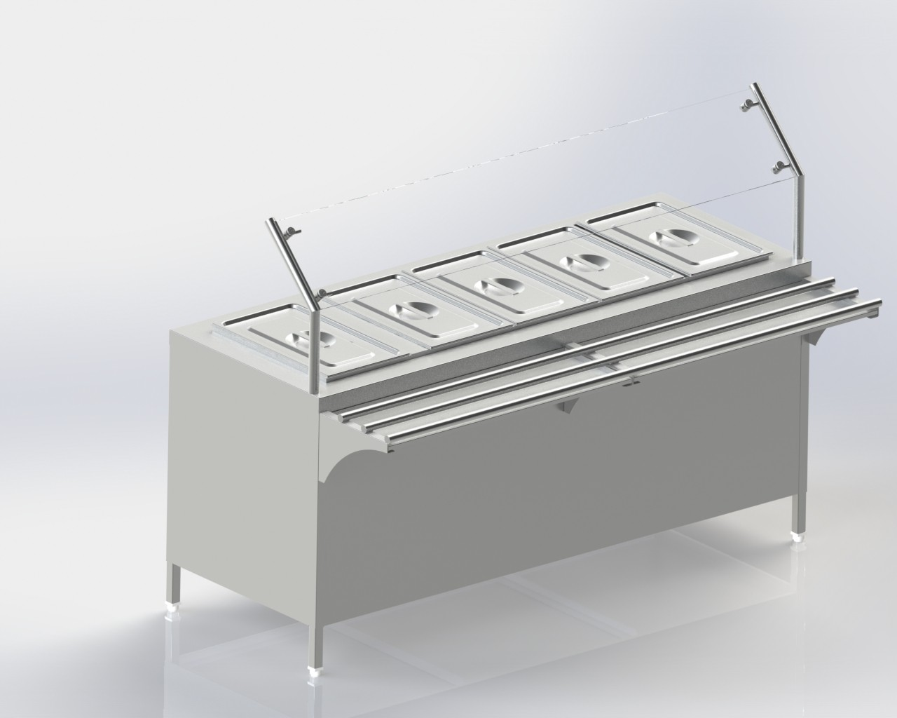 Bain Marie for keeping food hot,cold or at room temperature