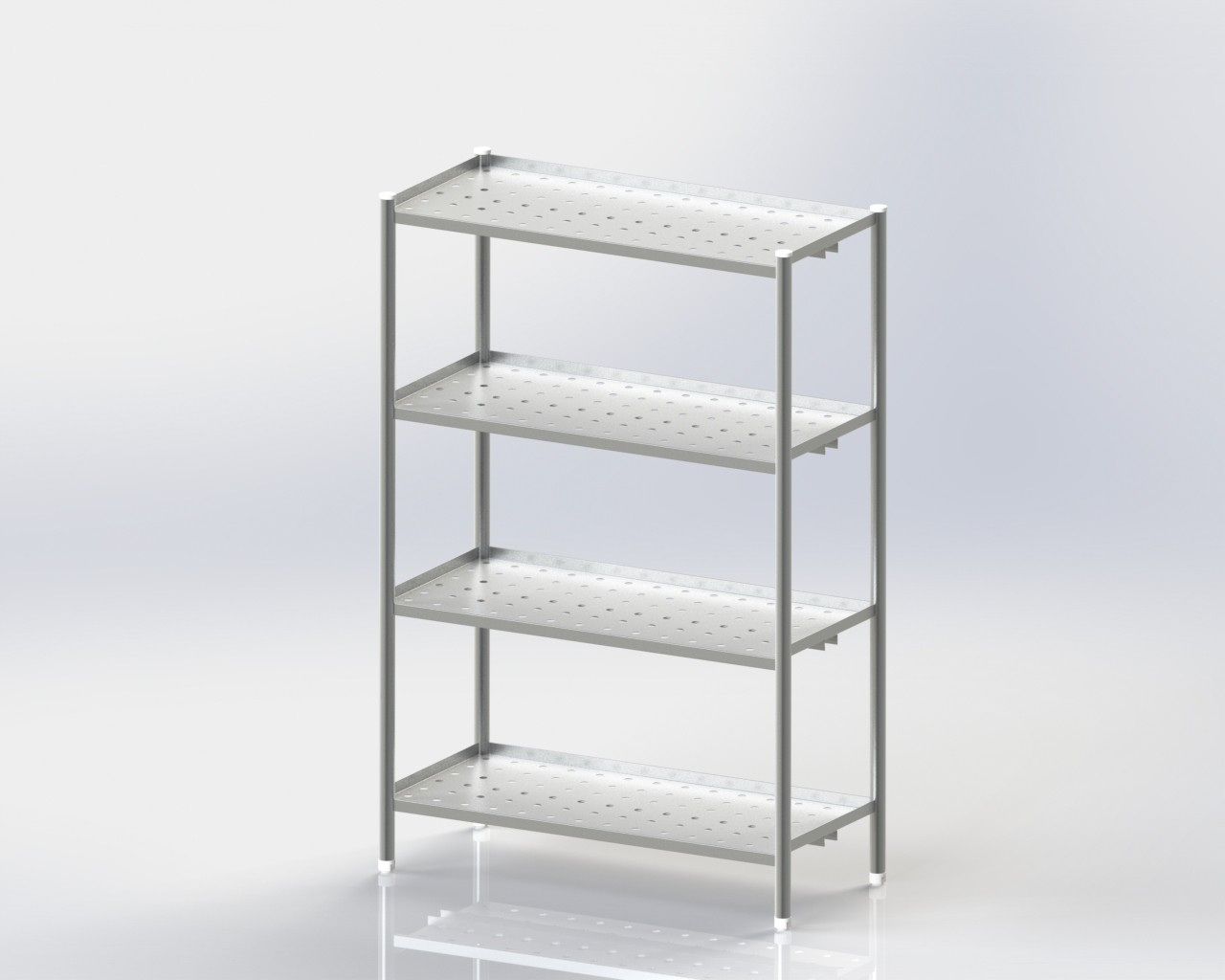 4 Storage Rack/Perforated