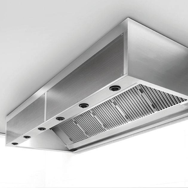 exhaust hood stainless steel