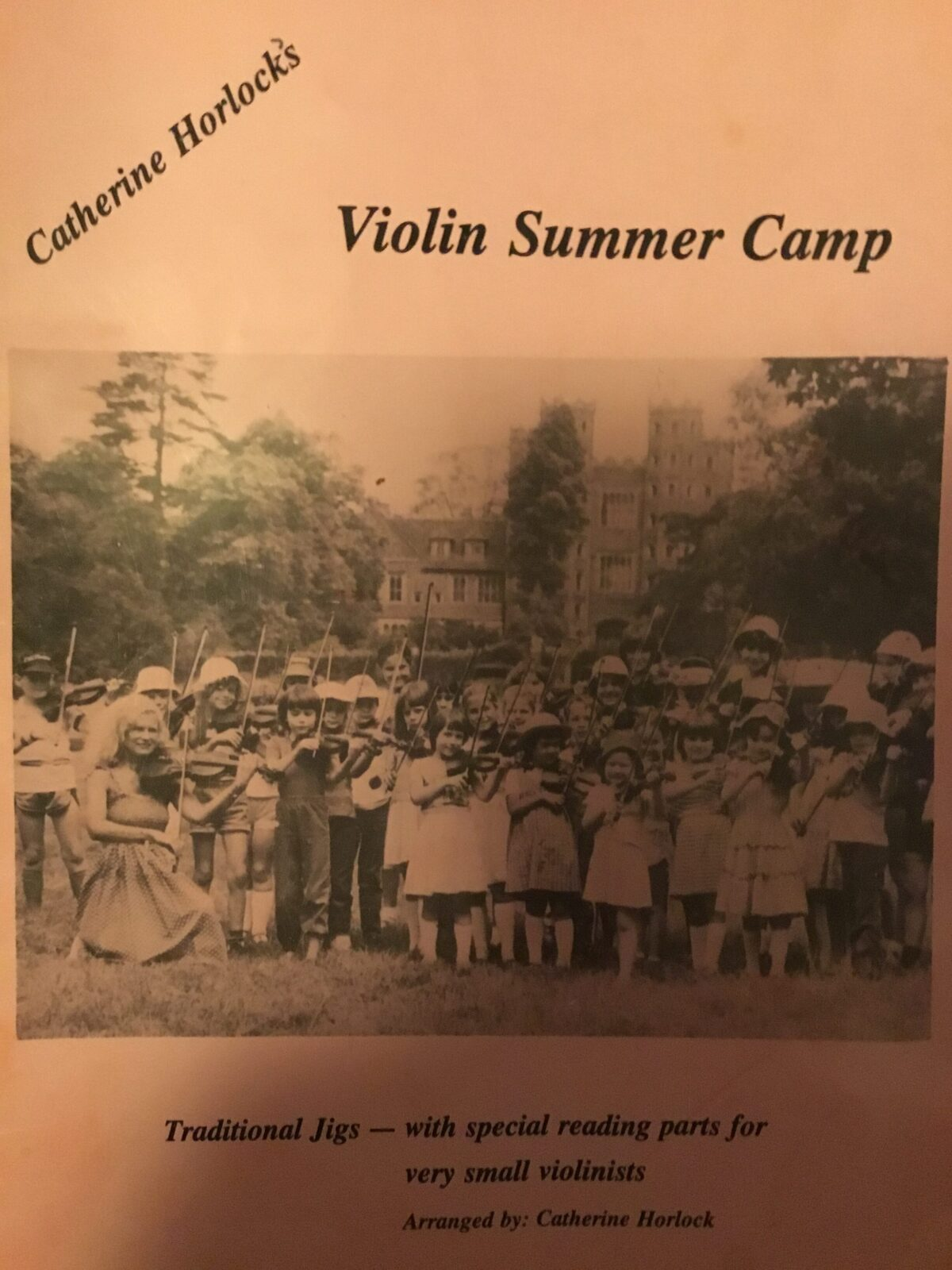 Violin Summer Camp