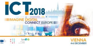 Conference Banner for ICT 2018, 4-6 December in Vienna