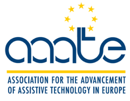 Logo of aaate, the Association for the Advancement of Assistive Technology in Europe