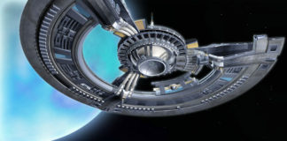 Rendering of the c-base Spaceship