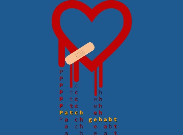 Datenspuren 2019 Logo: Bleeding heart with a patch
