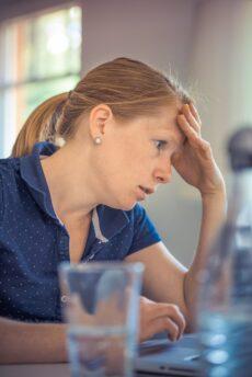Worried Working Mum