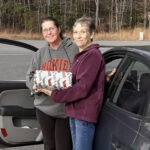 Teresa Welch and Volunteer