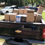 Truck Full of Donations Ride On Cannon Richmond VA
