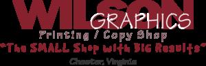Wilson Graphics Sponsor