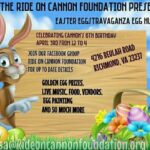 Ride On Cannon Easter Event