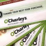 O'Charleys Gift Donations