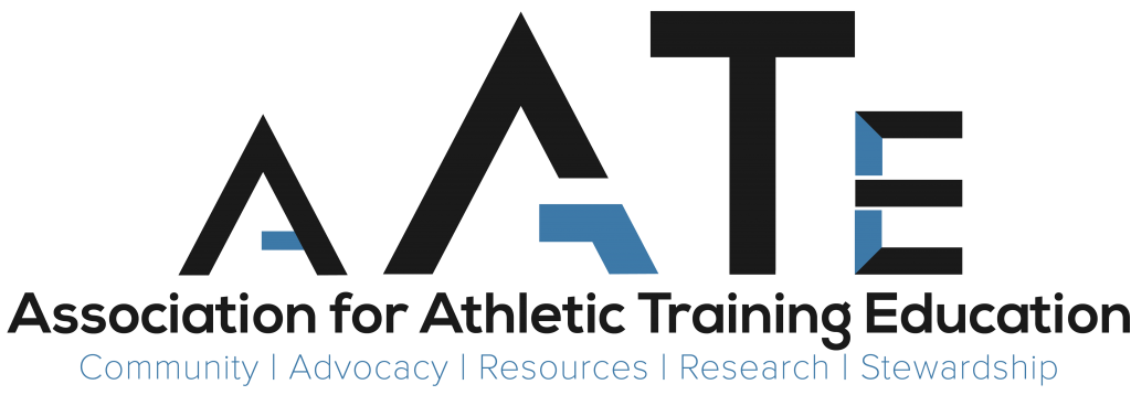 Association for Athletic Training Education Logo