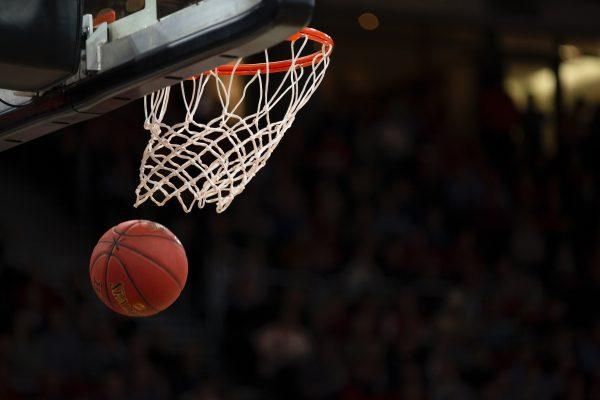 Basketball and Basketball Goal