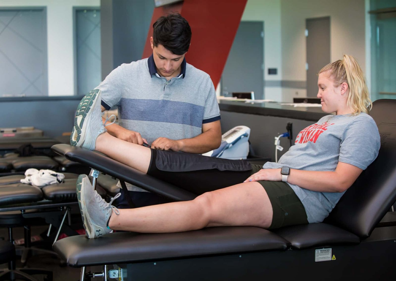Rehabilitation Trainer and Patient