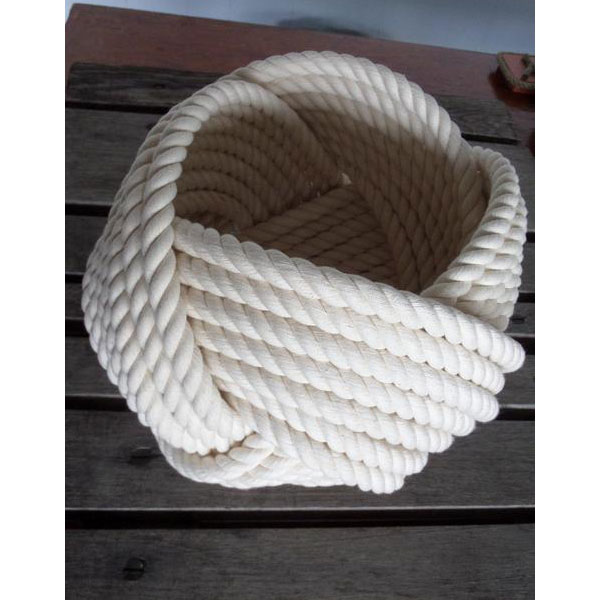 CRB108-nautical-decor-cotton-rope-bowl-basket-10-x-8-knotted-off-white