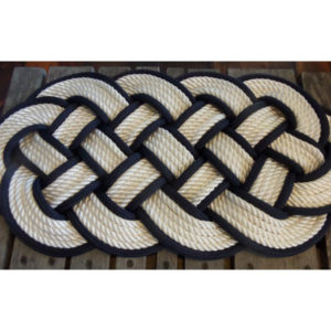 RRWB3012-White-with-Black-Accent-Rug-30x12