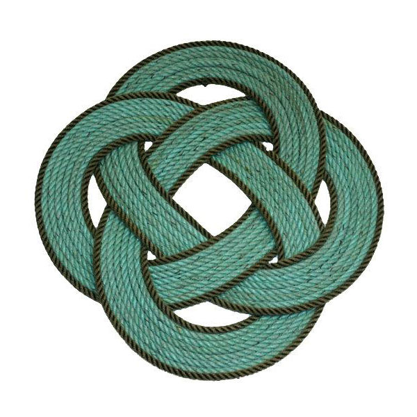 Rope-Centerpiece-2-Color-Green-with-Dark-Brown