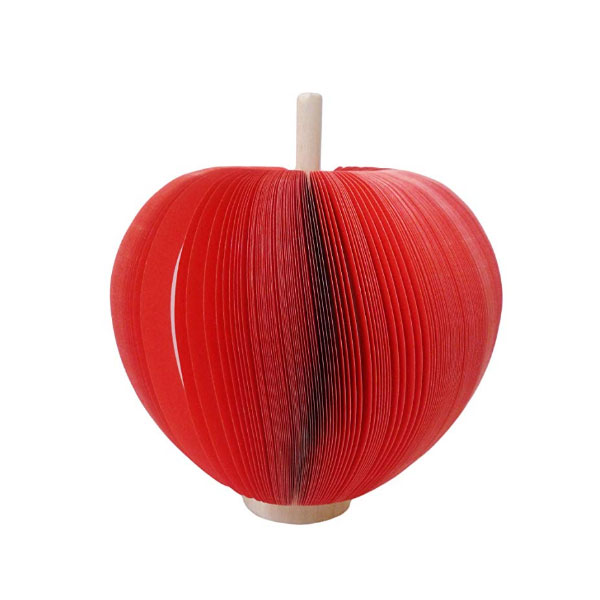 CREATIVE-SHAPES - SE-8003_3-Dimensional-Notepads-Big-Red-Apple