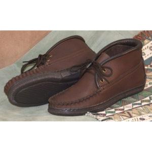 Women's-Cowhide-Lace-up-Chukka-Brown