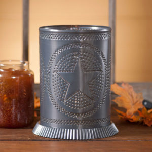 Candle-Warmer-with-Regular-Star-in-Country-Tin