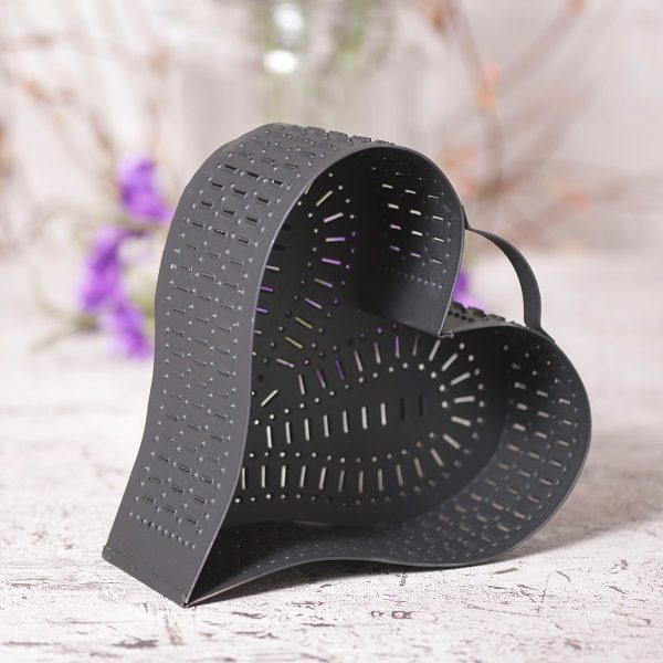 Heart Cheese Mold in Black