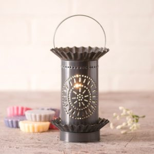 Mini Wax Warmer with Chisel in Country Tin