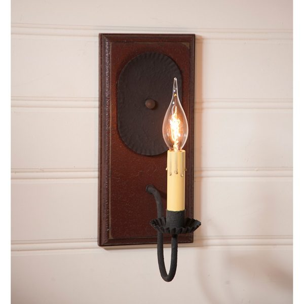Wilcrest Sconce in Americana Red