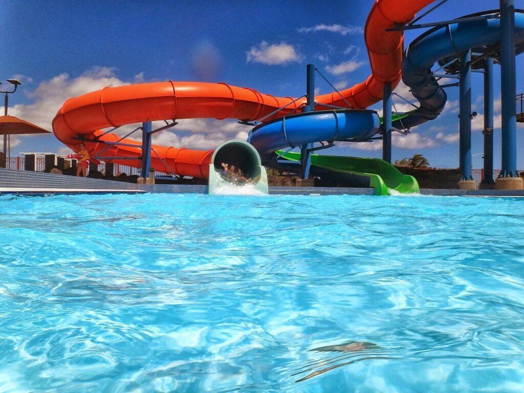 waterslide, waterpark, aquapark