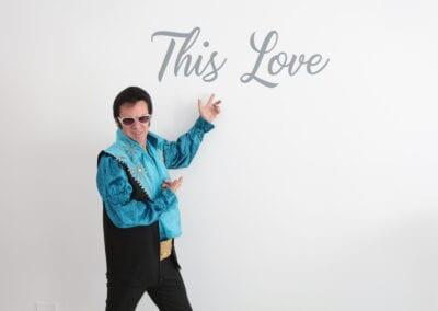 Elvis Impersonator Elvis in the house!