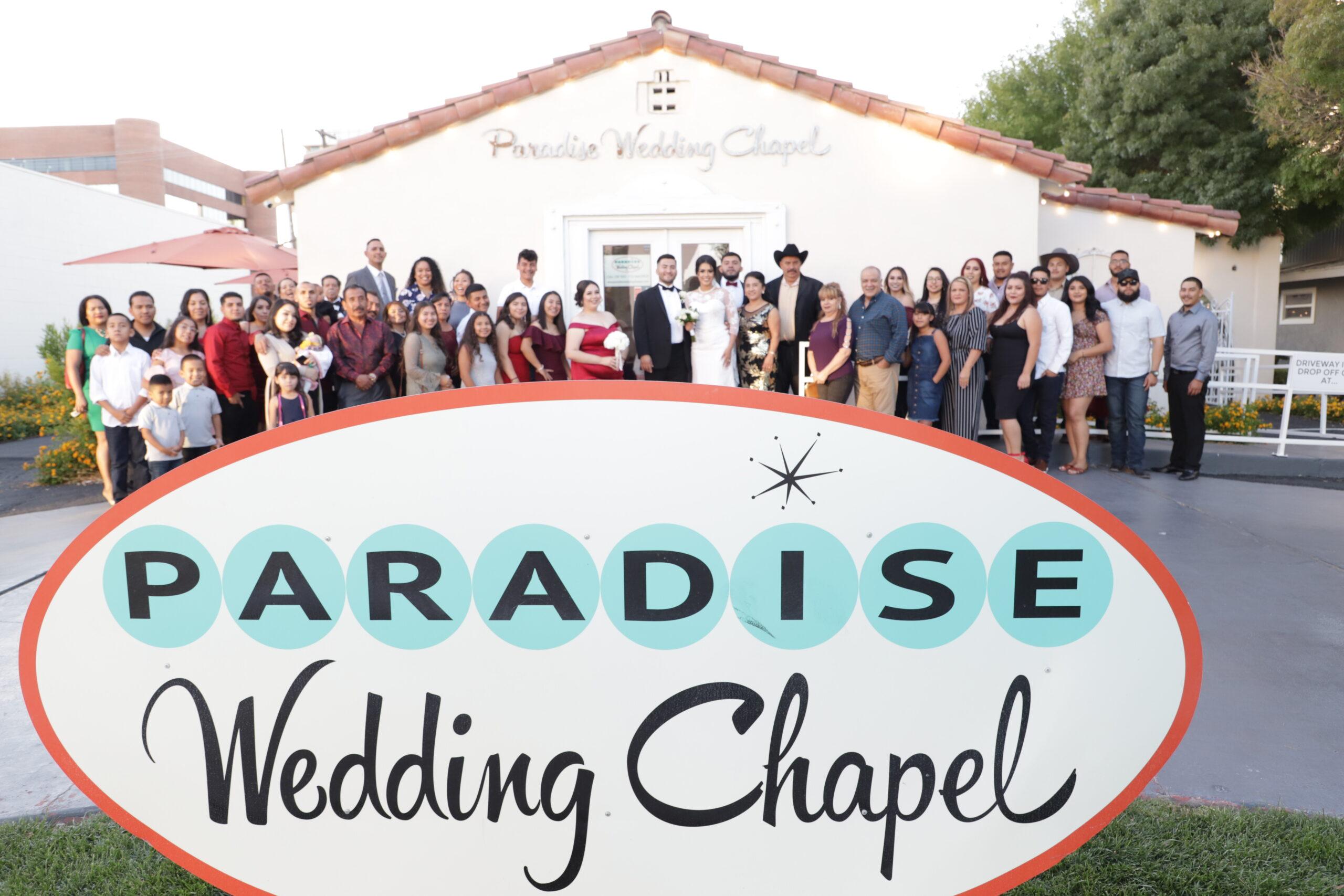 Paradise Wedding Chapel Pictorial